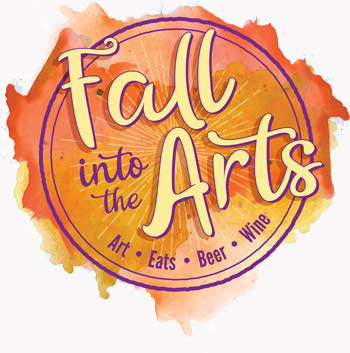 Fall into the Arts logo